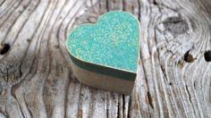 Jewelry box heart box decoupage heart box от WeddingDesignForYou