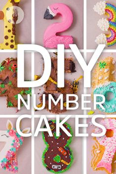 DIY Birthday Number Cakes 😱🤯👏 Use these simple cutting hacks and decorating tips to make these number cakes like a PRO! Funny Birthday Cakes, 13 Birthday Cake, Minnie Birthday, Cake Icing, Buttercream Cake, Cupcake Cakes, Diy Birthday Number, Number 5 Cake, Cake Hacks