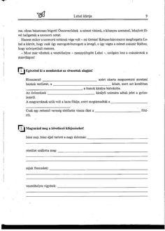 Lehel 2. Olvasni jó! Szövegértés gyakorlóból Sheet Music, Music Sheets