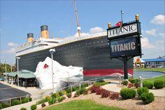 Titanic Museum in Branson, Missouri
