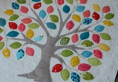 Design Free Applique Patterns | followed the pattern exactly, free-motion stitching several times ...