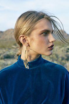 Aneta Pajak Wears Statement Fashion in Harper's Bazaar Australia