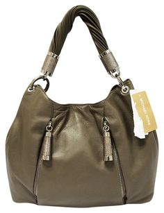 3754f7d94ee3 Michael Kors Tonne Leather Hobo Bag. Hobo bags are hot this season! The  Michael