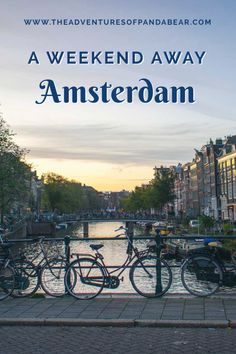 This is the best weekend guide to Amsterdam, the 3 day long weekend itinerary takes you to some of the most popular tourist sights as well as some off the beaten path museums, things to see, and places to eat.