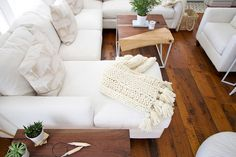 How to knit a chunky wool blanket | DESIGN THE LIFE YOU WANT TO LIVE | Lynne Knowlton