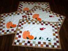 Easy Quilted Placemats Patterns images