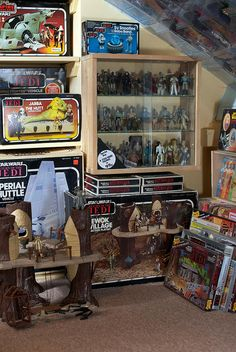 Return of the Jedi vintage action figures by eyeSPIVE, via Flickr