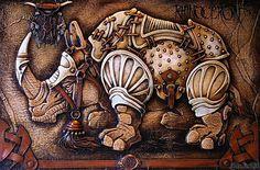 Unique works by Victor Goryaev | Viola.bz