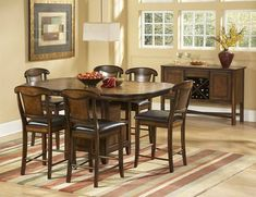 Kitchen: Graceful Counter Height Table Sets Rectangle Also Counter Height Dining Room Table Sets from Counter Height Kitchen Table Sets - Sets A Wise Choice
