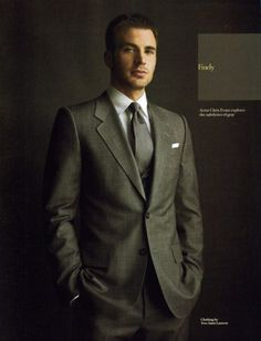 Hot guys in a suit = winning