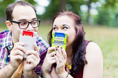 Katie + Patrick's Geeky Central Park Engagement Shoot - Cassi Claire Photography