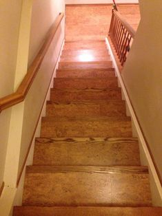 Corkifying Your Stair Case