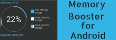 In this post, we take a look at an app called Memory Booster that allows Android users to get the maximum performance out of their device.