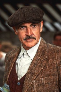 Jim Malone - The Untouchables - (Sean Connery) Sean Connery, James Bond, Robert Duvall, Day Lewis, Scottish Actors, Kevin Costner, Denzel Washington, Matthew Mcconaughey, Steve Mcqueen