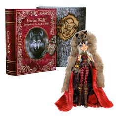 "11"" CERISE WOLF doll EVER AFTER HIGH mattel 2014 SDCC EXCLUSIVE hood COMIC-CON  #Mattel #DollswithClothingAccessories"