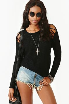 Ripped To Shreds Knit   $58