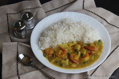 Fisherman's Shrimp Curry -- returning to fine simplicity of life! http://onceuponasupper.com/fishermans-shrimp-curry/
