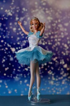 "Barbie Doll as Snowflake in ""The Nutcracker"" by derya 