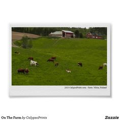 On The Farm Poster