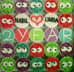 Cute cupcake idea for Ella's 2nd B-day