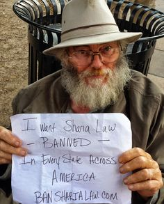 Petition to ban Sharia law in America. Also please call your gov reps and White House at 202/456-1111