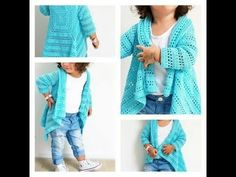 Blue Sky Cardi ByKaterina - Crochet patterns Blue Sky Cardi Simple to observe free sample for sizes from 2 to 10 years previous. Crochet Hoodie, Crochet Cardigan Pattern, Crochet Jacket, Easy Crochet Patterns, Crochet Vests, Crochet Toddler, Crochet Girls, Crochet Baby Clothes, Crochet For Kids