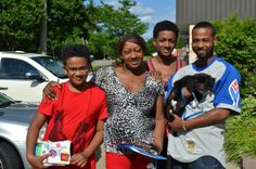 Cassie is ready to begin her new life with this great family!  Happy trails, Cassie!  #maddiesadopt #richmond #va