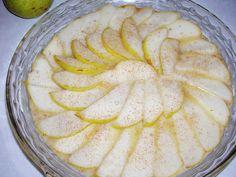 Pear Clafoutis Tart (Gluten Free, Grain Free, Sugar Free, Dairy Free) / Wholesome Foodie <3
