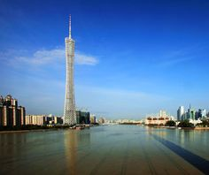 world's top new buildings: Canton Tower