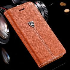 FLOVEME Case For Apple iPhone 7 Plus 6 6S Plus with Magnetic Flip Leather Case