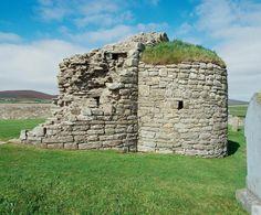 Earl's Bu, Orkney  #Scotland #History #Castles