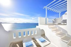 Saint John Hotel Resort luxury accommodation in Mykonos offers the experience that reflects the purity of the Cyclades Islands and Greece.