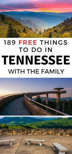 189 Free Things to do in Tennessee | The Frugal Navy Wife