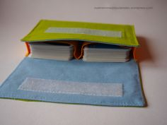 Kartentäschle – Anleitung zum Selbernähen, Hülle / Tasche für Spielkarten / Kartenspiel