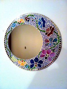Resultado de imagen para espejos con mosaicos