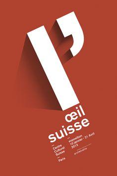 Affiche l'Œil Suisse proposition n°1