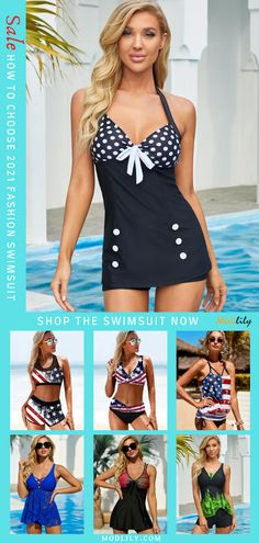 Shop for trendy fashion style swimsuit for women online at MODLILY. Find the newest sexy and cute swimsuit with affordable prices. Summer Dresses For Women, Summer Outfits, Casual Outfits, Fashion Outfits, Fashion Over 50, Trendy Fashion, Blue Swimsuit, Cute Swimsuits, Bra Styles