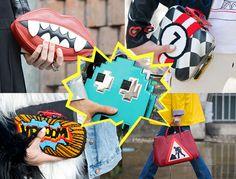 BLOG | Menina, surtei!: As bolsas divertidas estão na moda!