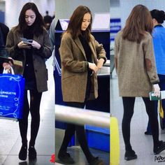 """""""160301 Soojung At Gimpo Airport Back From Beijing #krystal #krystaljung #jungsoojung #soojung #fxkrystal #yoona #imyoona #ggyoona #snsdyoona"""""""
