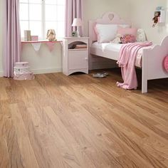RP73 Kenyan Tigerwood Kids Bedroom Flooring - Da Vinci