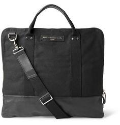 WANT Les Essentiels de la VieHeathrow Cotton-Canvas Messenger Bag|MR PORTER (€390.00) - Svpply