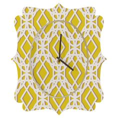 You should see this Aimee St. Hill Diamonds Quatrefoil Wall Clock on Daily Sales!