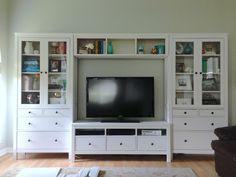 built in entertainment center with desk - Google Search