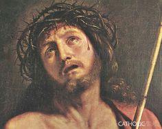 Crown of thorns up Jesus the Christ (Matthew 27:29)