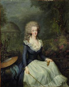 Marie Antoinette attributed to Jean-Baptiste Andre Gautier. Marie Antoinette Auction at Christie's Paris: Slideshow</p>