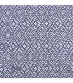 Home Decor Print Fabric- Robert Allen  Strie Ikat / Rain, , hi-res