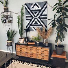 Bungalow, Rustic, Blanket, Plants, Vintage, Instagram, Living Rooms, Home Decor, Design