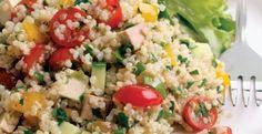 Quinoa & Smoked Tofu Salad  | KitchenDaily.com
