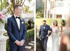 Elegant Black and Gold Wedding – Destination Wedding - Reunion Resort in Kissimmee Florida - Florals: Lee James Floral Designs - Photo: Bumby Photography  - Click pin for more photos - www.orangeblossombride.com