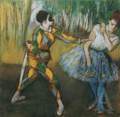 Edgar Degas, um 1886